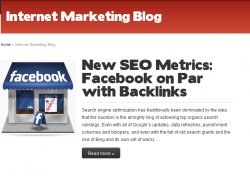 Article Syndication for backlinks
