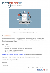 email marketing from HubSpot | ProFromGo Internet Marketing